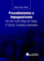 Procedimientos e impugnaciones