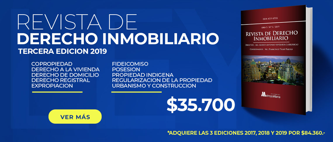 Revista de Derecho Inmobiliario